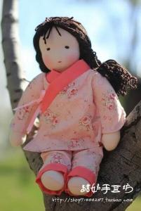 华德福娃娃 手工玩偶