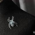 小号立体蜘蛛胸针