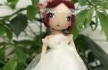 童话森林手作——矢车菊眸色的原创布娃娃
