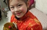 孙女的新年中式棉衣
