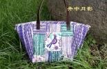 【井中月影】紫色小鸟包