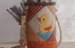 女王拼布--爱的礼物 萌萌哒拼布水壶套