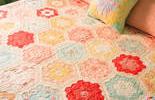 #祖母花园被#拼布,给家多一些色彩