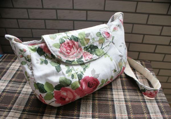 六月玫瑰—我的帆布斜背包(有真人兽)