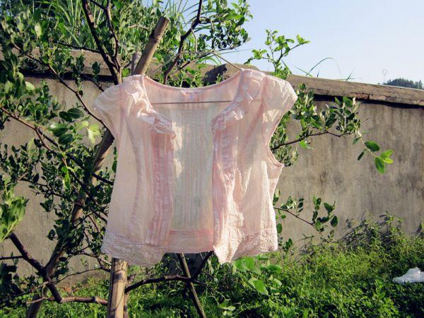 旧物改造之配吊带群穿的小披肩