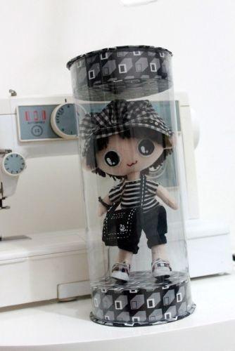 【娃娃展示盒】你的娃娃怕脏吗?我的不怕啦 呵呵。附详细教程