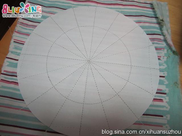南瓜篮子.详细步骤+纸样
