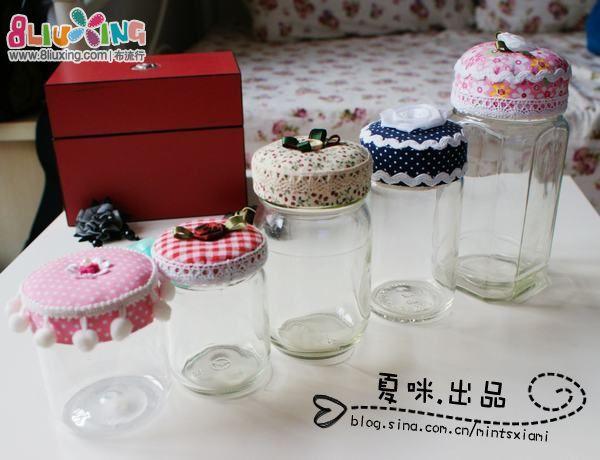 ❤夏咪❤出品—旧玻璃瓶变身记(简单教程)