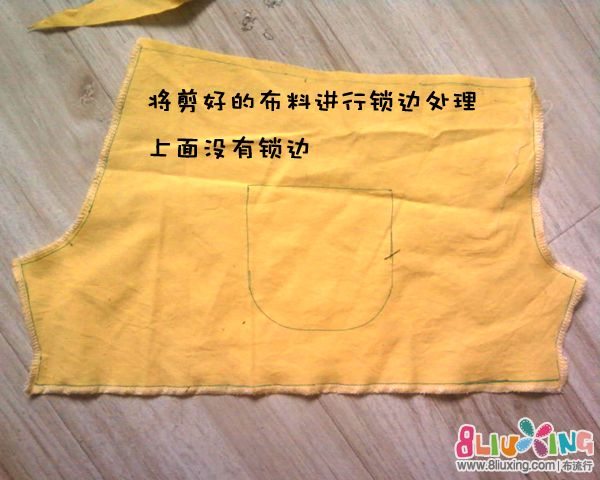 【笨笨】儿童短裤裁剪缝制过程