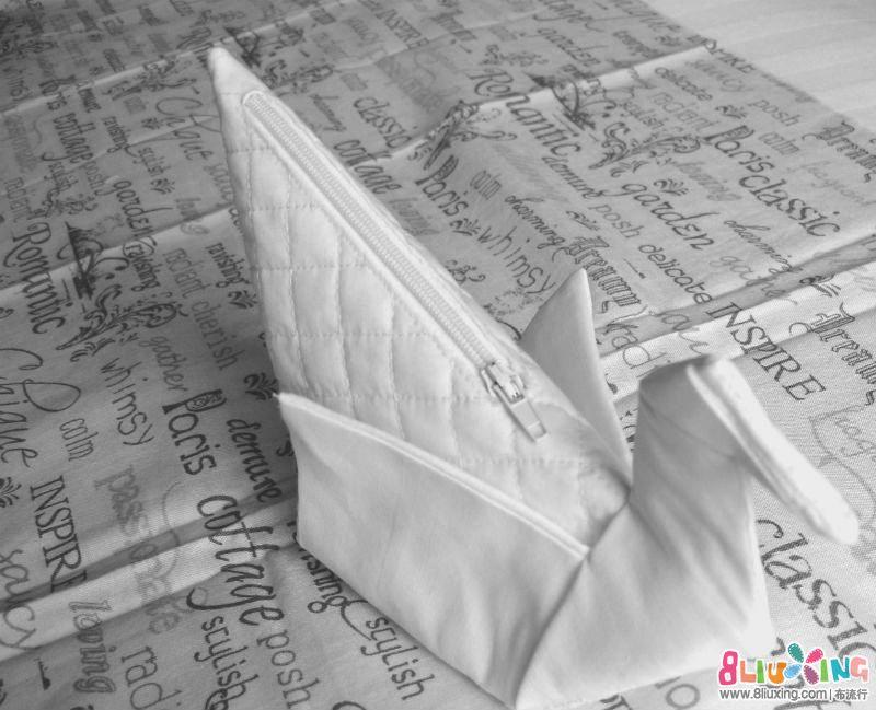 纸鹤包-原创纸形制作教程(包括包包秀和制作教程)