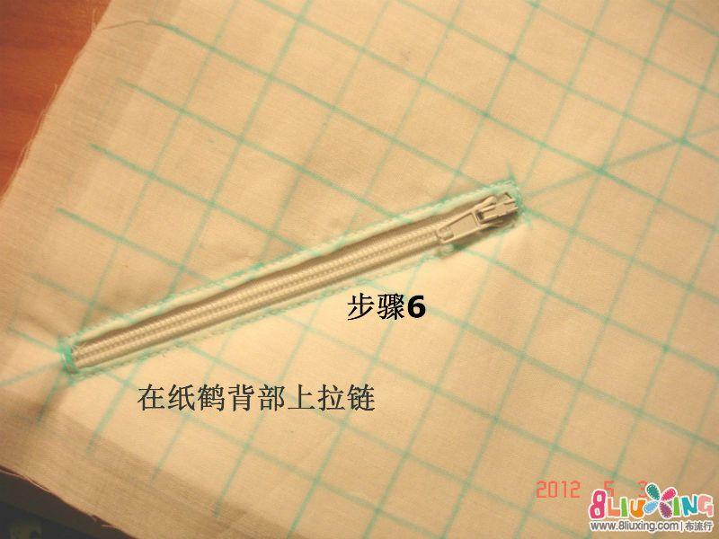 纸鹤包制作过程 (6).JPG