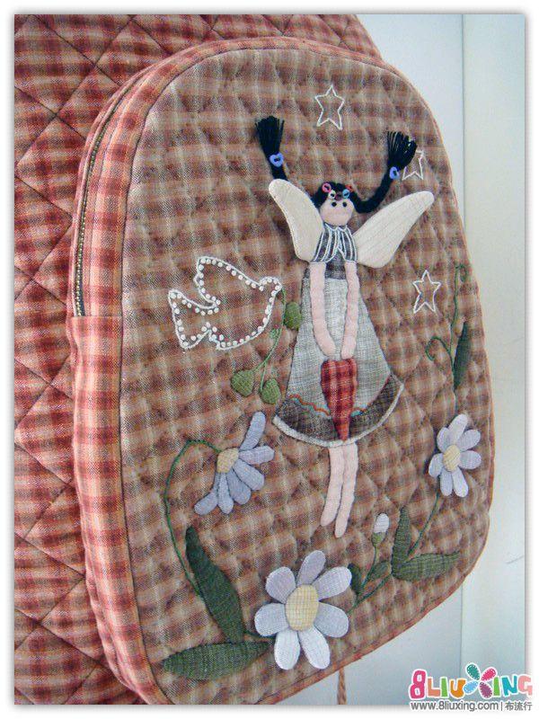 开学季,送给女儿的—天使双肩背包