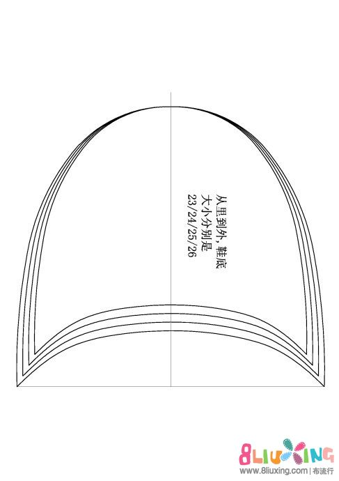 图纸棉手工,配(1:1)图纸凉菜拖鞋间图片