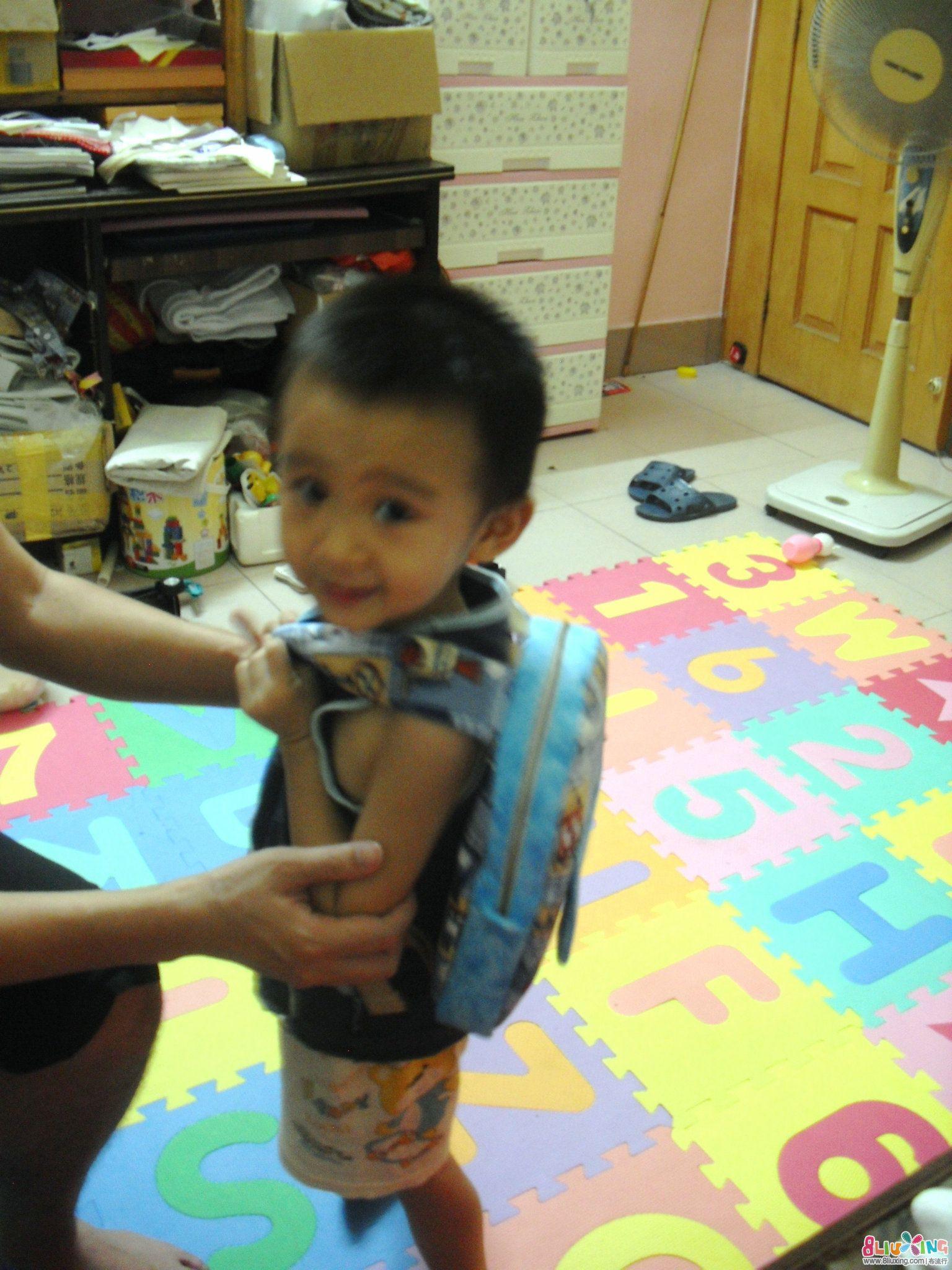 为孩子做的第一个书包