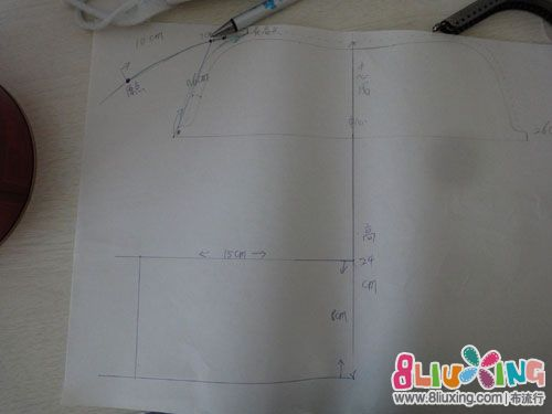 26cm手挽口金图纸及画法