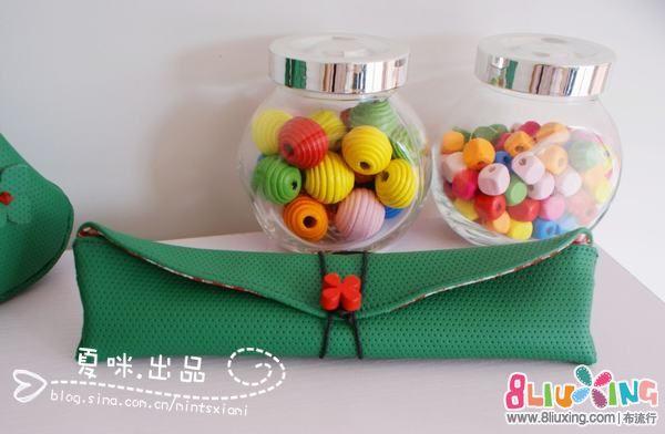 [2012年10月活动] 【布包十月--可爱小笔袋】—♥夏咪出品♥迷你笔袋