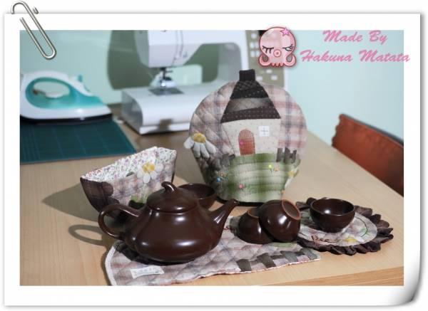 最爱饮茶时间——雏菊茶具四件套