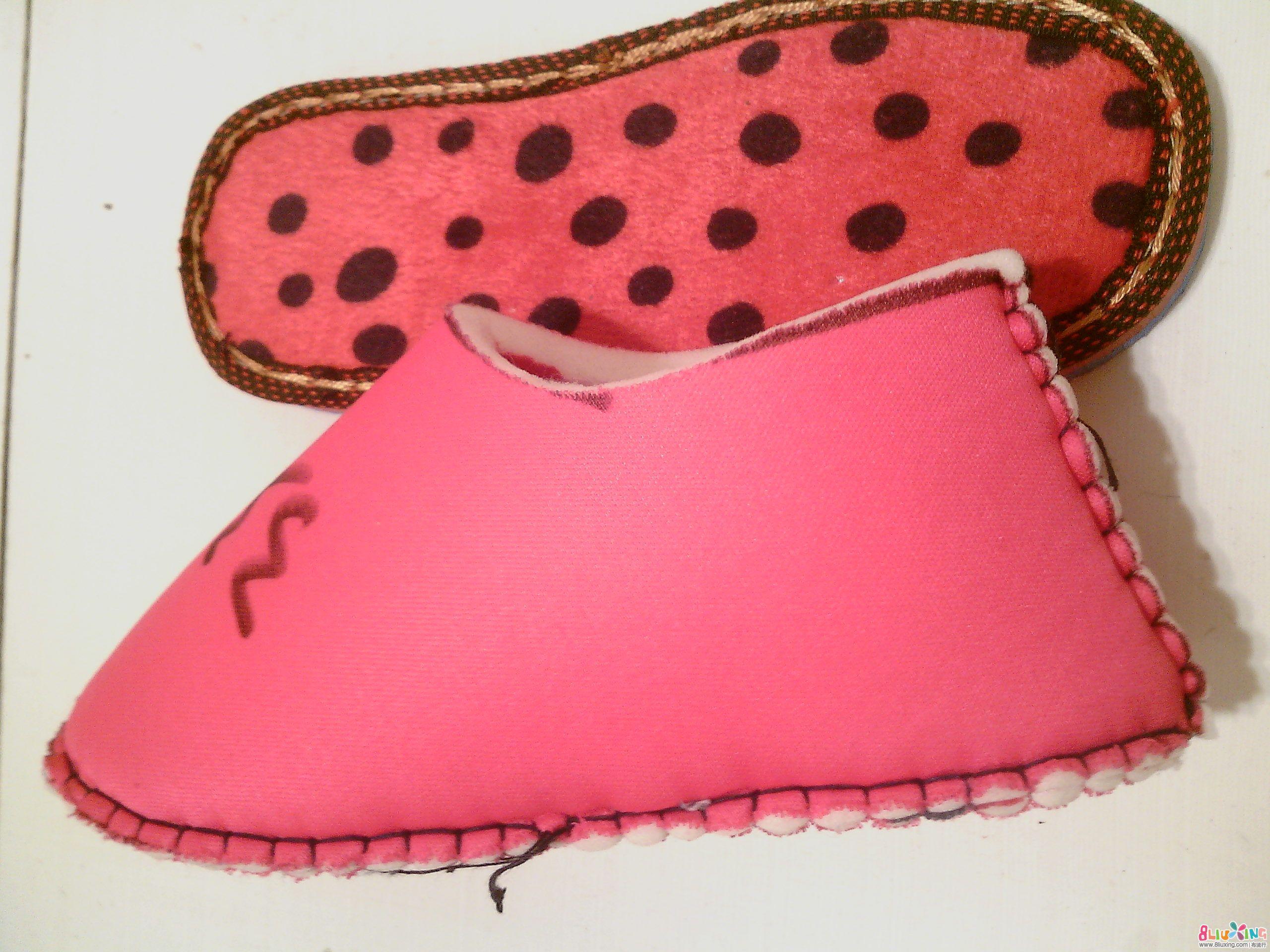 棒针毛线棉鞋的织法 毛线棉鞋的织法图解