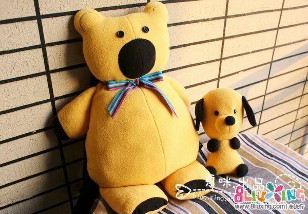 ♥夏咪出品♥—你的童年(小熊背包&小狗狗)