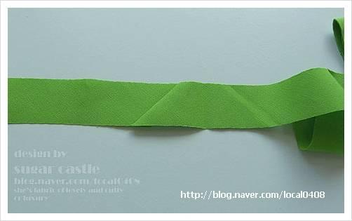 包边条的新型裁剪方法