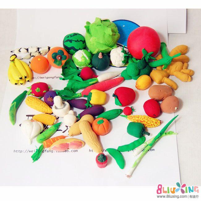 >> 文章内容 >> 水果超轻粘土图片大全  超轻粘土都能捏什么蔬菜水果