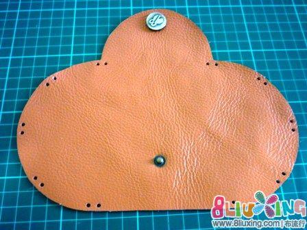 折叠皮图纸(有图纸钱包)-布艺教程教程布流行sf6手工图片