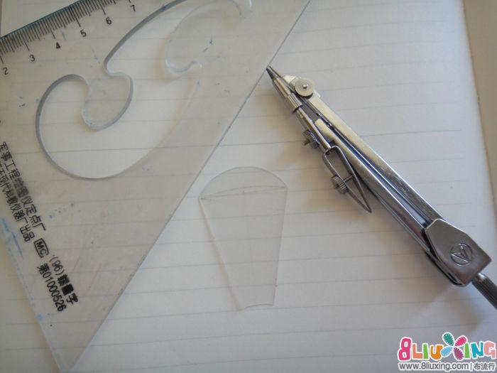 教程/要画的就是这个塑料板的部分