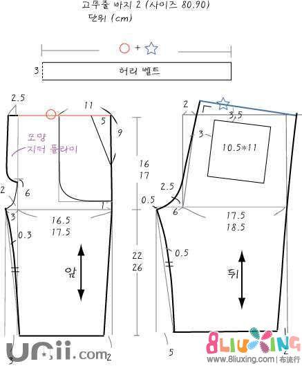 儿童短裤裁剪图 - 图纸下载专区