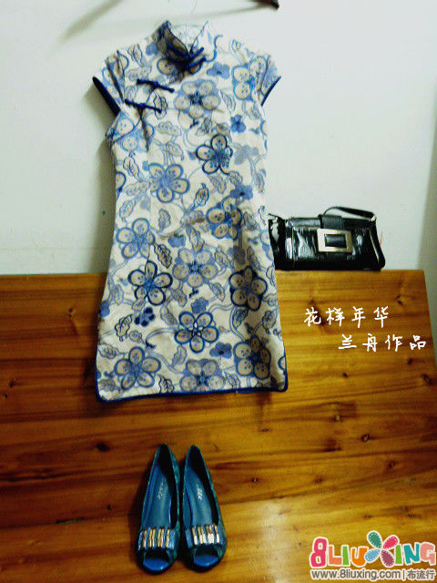 转载---旗袍裁剪图