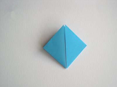简单的折纸钻石