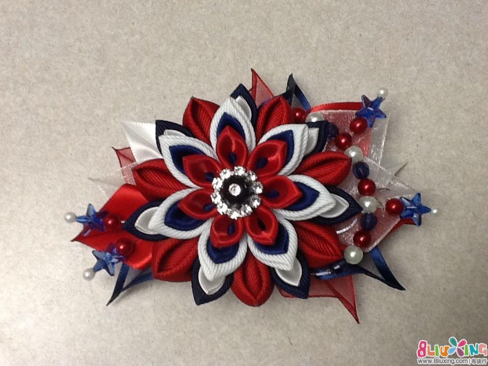 丝带花 布艺手工制作_手工丝带花朵制作方法