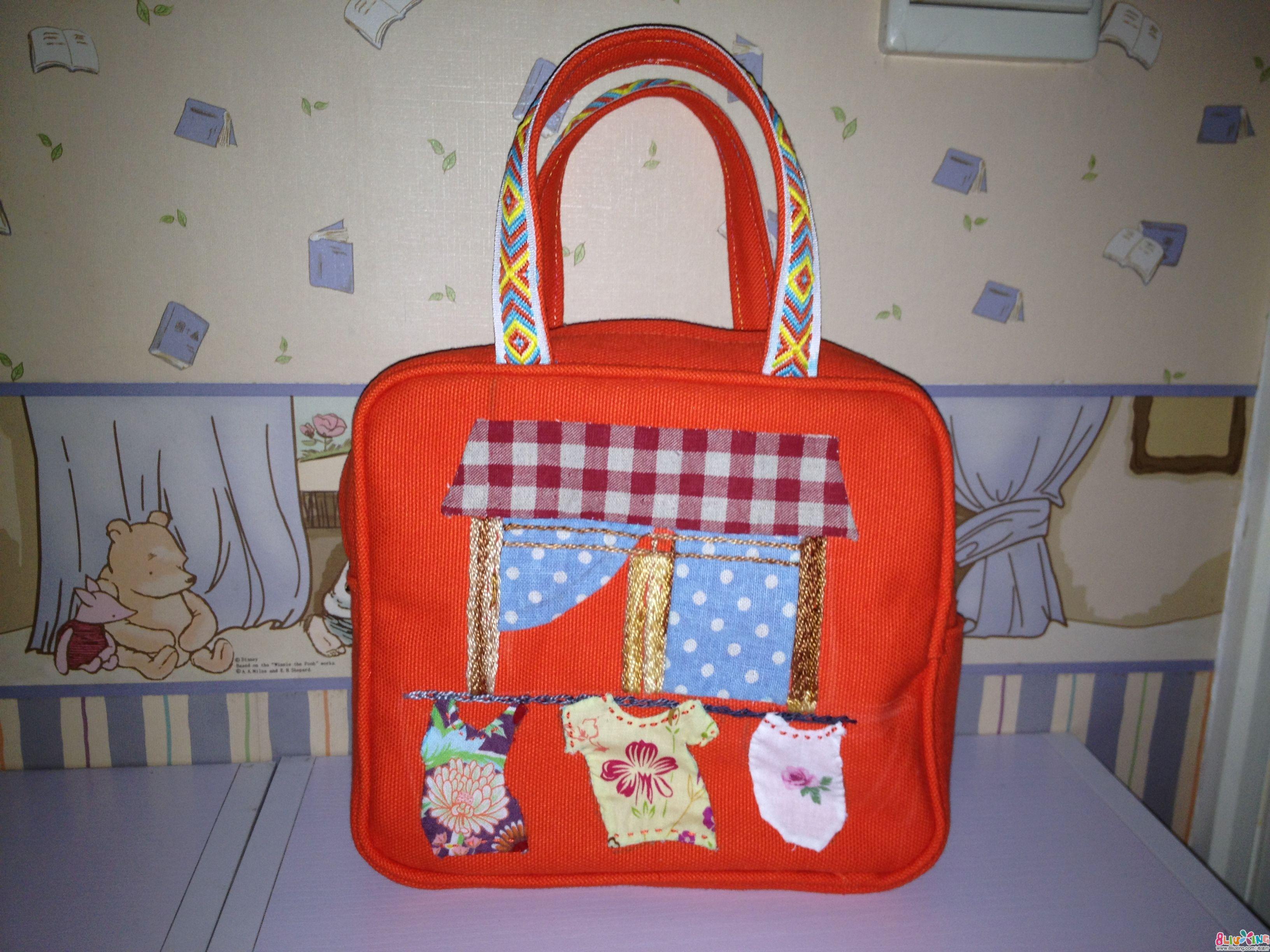 幼儿手工手提包做法_幼儿手工制作手提包图片