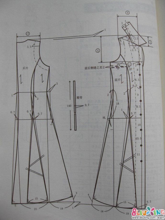 设计图分享 手绘衣服设计图铅笔画 > 无袖手绘长裙设计图