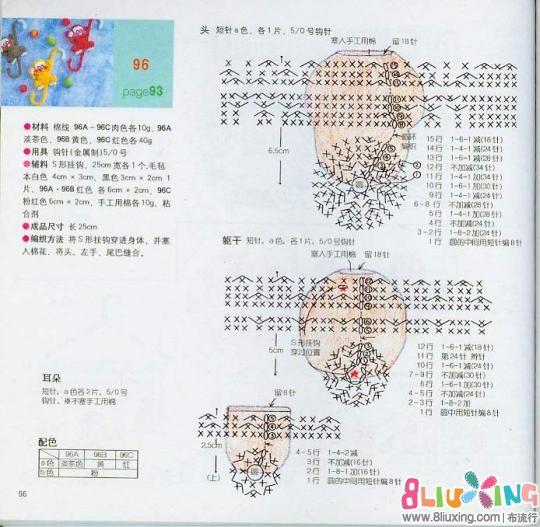 图纸小图纸-钩针下载专区布流行管廊分类综合猴子图片