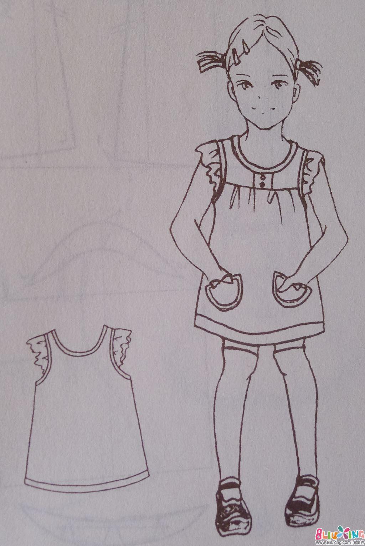 抹胸收腰鱼尾裙 白色透视蕾丝连衣裙 高腰款格子毛呢面料韩范儿公主风