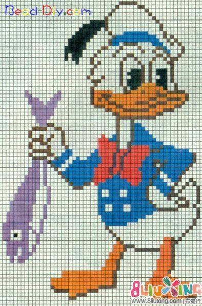 图纸儿童的毛衣--唐老鸭-图纸下载专区布保存8.0ug流行图案怎么图片