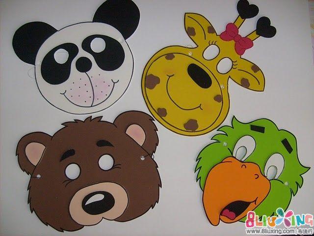 燕燕不织布手工   【分享】儿童动物面具