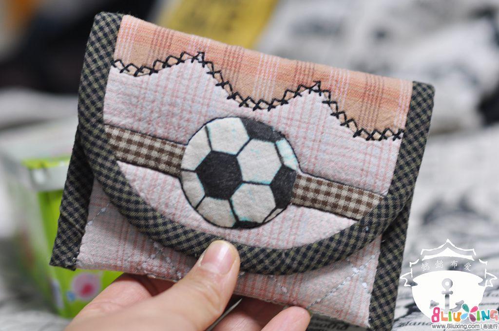 [子贺手作]足球小男生纸巾包