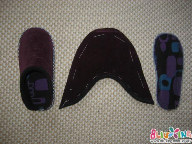 为4岁宝宝做布艺棉拖鞋(附鞋样及教程) - 手工布