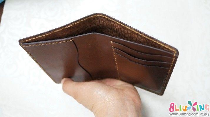 非常简单实用的一款皮手工-钱包包包秀布流图纸ucfb204轴承图片