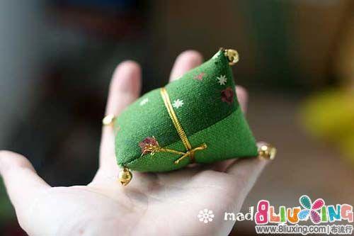 拼布粽子手工制作教程