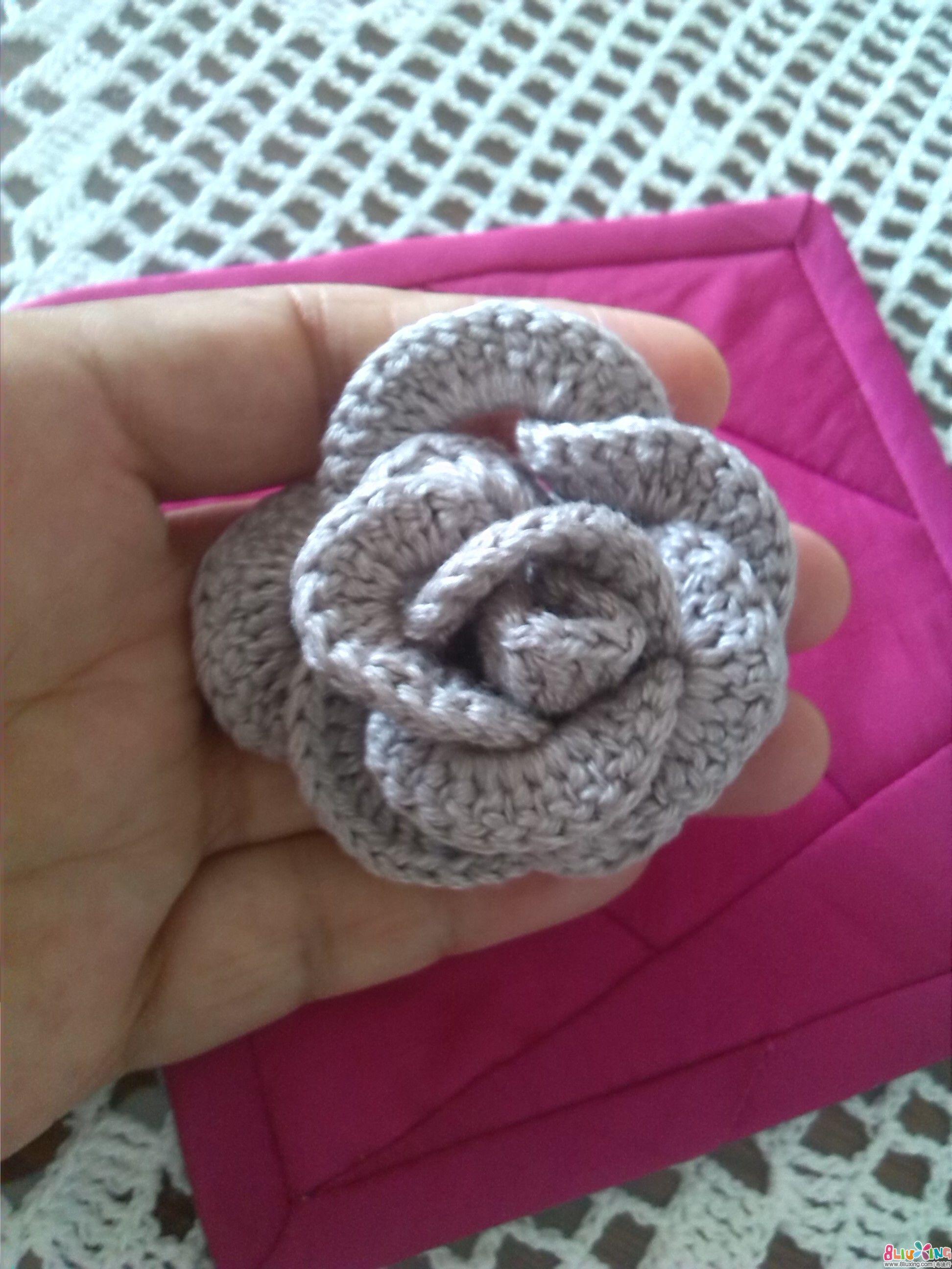 钩针 杯垫 手工编织与刺绣高清图片