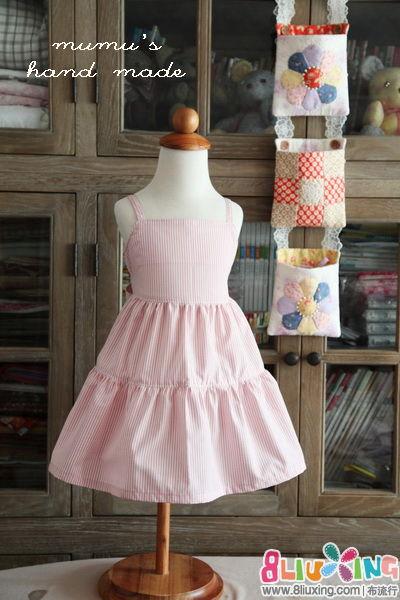 木木手做~快速机缝的夏日母女装