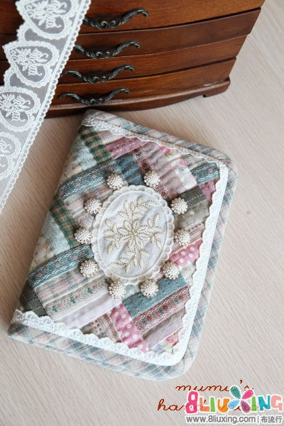 复古甜美风ipad mini包