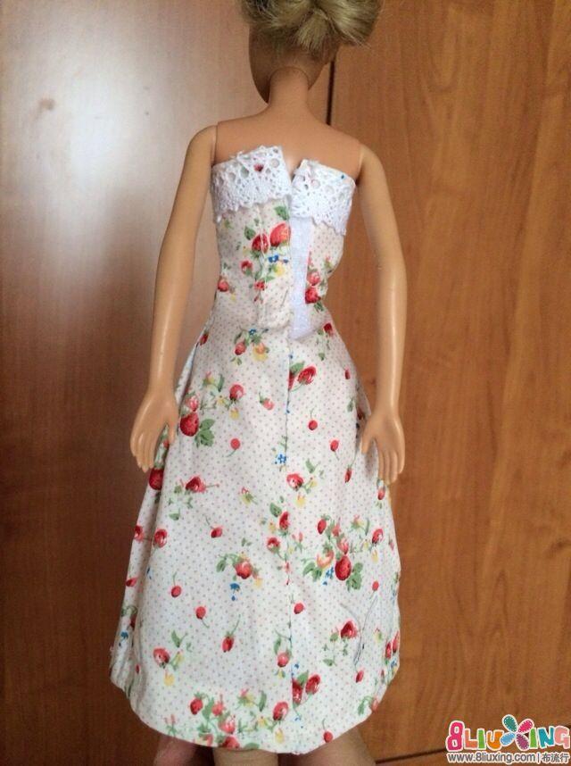 给芭比娃娃做裙子_学做芭比娃娃的裙子_给芭比娃娃 ...
