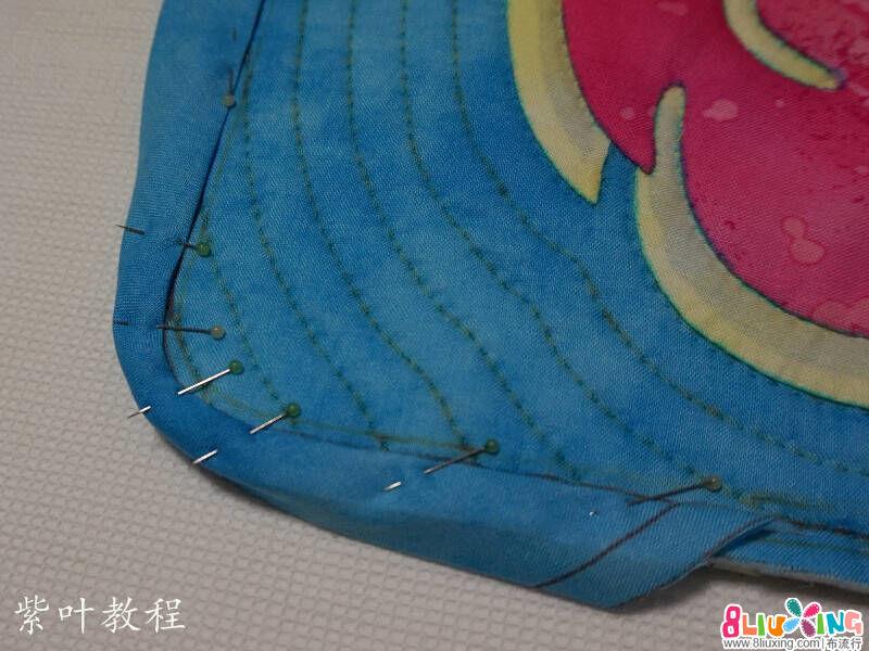 手缝包边教程-紫叶老师