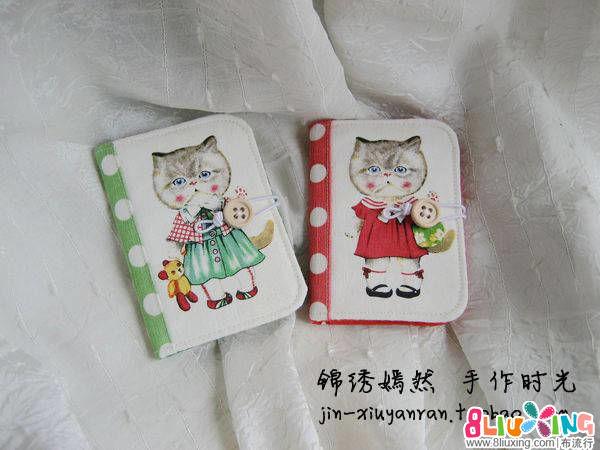 【布包12月-圣诞快乐!】红加绿的圣诞卡包~
