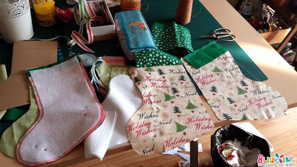 圣诞袜-平安夜的礼物袋