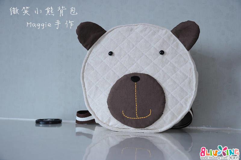 小熊背包(原创详尽制作过程)