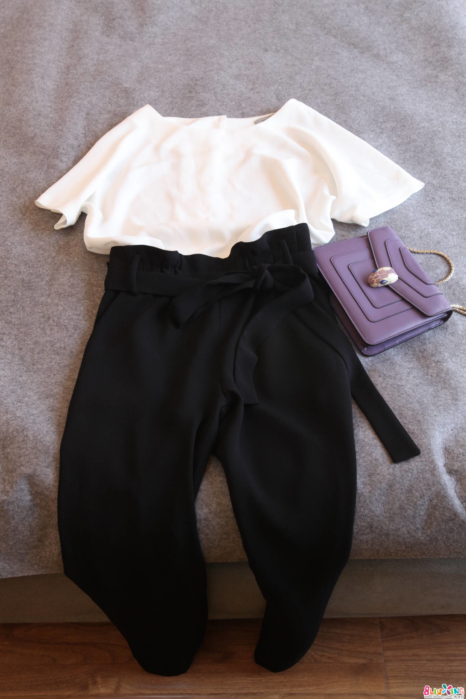 【Forider设计】黑白设计连体裤